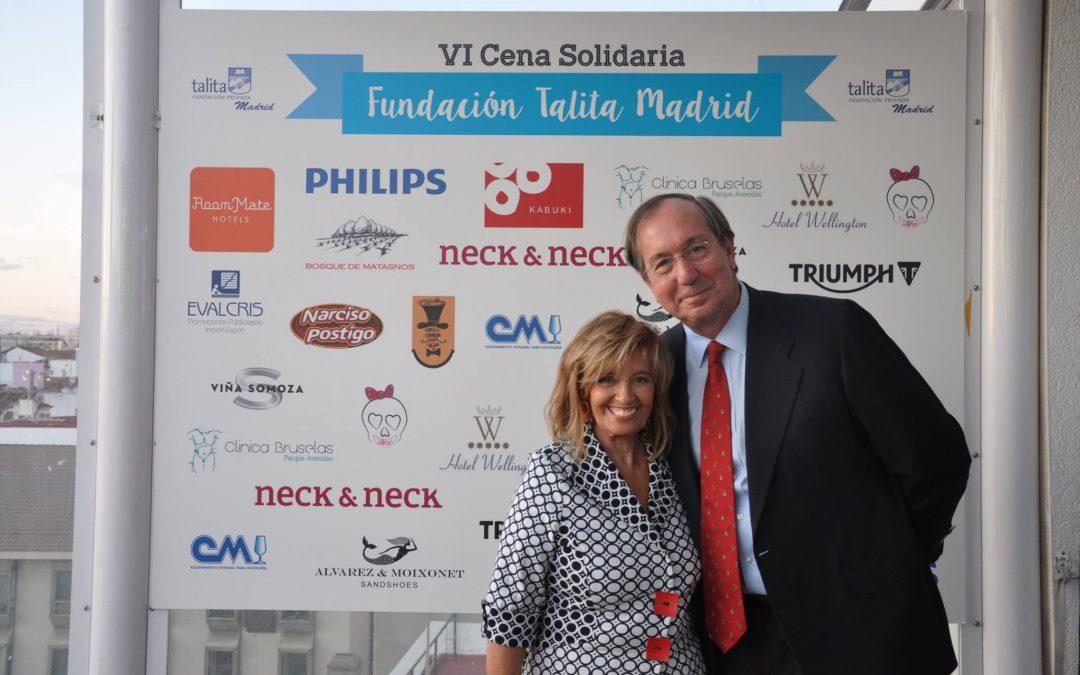 Sexta edición de la Cena Solidaria de Talita Madrid