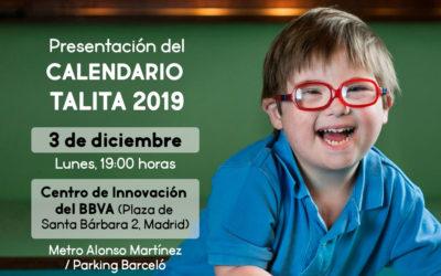 ¡Ven a la presentación del Calendario Talita 2019!