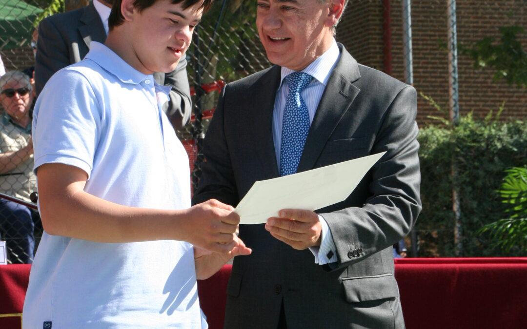 Premio especial de honor para Felipe Calvo Domper