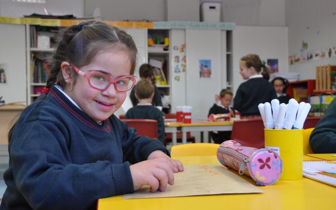 Talita Madrid cumple 10 años haciendo realidad la inclusión escolar