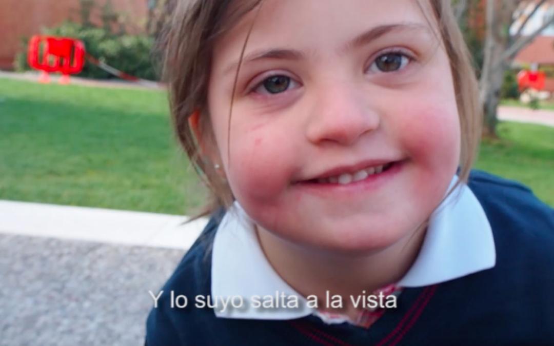 'Entre nosotros, uno más', nuestra campaña por el Día Mundial del Síndrome de Down